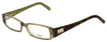 Fendi Designer Eyeglasses F891-315 in Olive Green 52mm :: Rx Single Vision