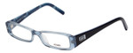 Fendi Designer Eyeglasses F891-442 in Ocean Blue 47mm :: Rx Single Vision