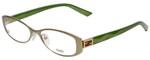 Fendi Designer Eyeglasses F899-317 in Matte Green 50mm :: Progressive