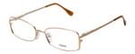 Fendi Designer Eyeglasses F960-714 in Gold 52mm :: Progressive