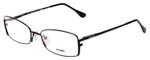Fendi Designer Eyeglasses F960-001 in Black 52mm :: Progressive