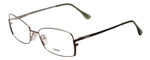 Fendi Designer Eyeglasses F959-756 in Golden Sage 54mm :: Progressive
