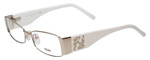 Fendi Designer Reading Glasses F923R-028 in Palladium 52mm