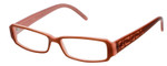 Fendi Designer Reading Glasses F664-255 in Pale Pink 53mm