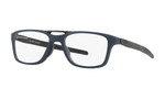 Oakley Designer Eyeglasses OX8113-0355 in Satin Universe Blue 55mm :: Custom Left & Right Lens