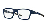 Oakley Designer Eyeglasses OX8077-0754 in Universe Blue 54mm :: Custom Left & Right Lens