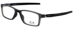Oakley Designer Eyeglasses OX8112-0252 in Satin Grey Smoke 52mm :: Rx Single Vision