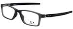 Oakley Designer Eyeglasses OX8112-0252 in Satin Grey Smoke 52mm :: Rx Single Vision