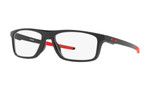 Oakley Designer Eyeglasses OX8127-0455 in Polished Black 55mm :: Progressive