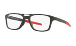 Oakley Designer Eyeglasses OX8113-0455 in Satin Black 55mm :: Rx Bi-Focal