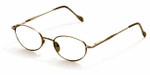 Reptile Designer Eyeglasses Gecko in Bronze :: Rx Single Vision
