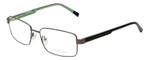 Gant Designer Reading Eye Glasses in Gunmetal/Black Green GA3102 009 58mm