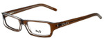 Dolce & Gabbana Designer Eyeglasses DG1144-758 in Brown 52mm :: Custom Left & Right Lens