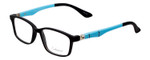 New York Eye Enhance Kids Designer Reading Glasses Matte Black/Blue EN4143 44 mm