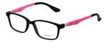 Enhance Kids Prescription Eyeglasses EN4143 44 mm Matte Black/Pink Custom Lenses