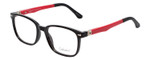 Enhance Kids Prescription Eyeglasses EN4118 48 mm Glossy Matte Black/Red Rx Base