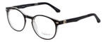 Enhance Kids Prescription Eyeglasses EN4119 46 mm Glossy Matte Black/Crystal Rx