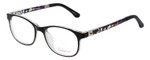 Enhance Kids Prescription Eyeglasses EN4132 46 mm Glossy Matte Black/Crystal Rx