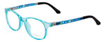 NY Eye Enhance Kids Prescription Glasses EN4132 46mm Crystal Blue/Matte Black Rx