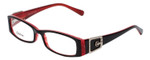 Calabria Designer Reading Glasses 814 Ebony with Blue Light Filter + A/R Lenses