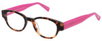 EyeBobs Rita Book Designer Reading Eye Glasses 2258-45 Tortoise Pink 47mm