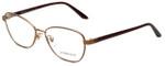 Versace Designer Eyeglasses 1221-1329 in Matte Brown 54mm :: Rx Bi-Focal