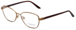 Versace Designer Eyeglasses 1221-1329 in Matte Brown 54mm :: Rx Single Vision