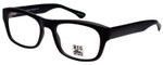Big and Wide Designer Eyeglasses BW4 Matte Black 60mm :: Rx Bi-Focal