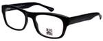 Big and Wide Designer Eyeglasses BW4 Matte Black 60mm :: Custom Left & Right Lens