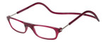 Clic Magnetic Eyewear Regular Fit Original Style in Bordeaux :: Custom Left & Right Lens