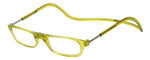 Clic Magnetic Eyewear Regular Fit Original Style in Lemon Lime :: Custom Left & Right Lens