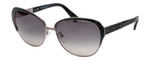 Lanvin Sunglasses Snakeskin Turquoise Blue/Silver Grey Gradient SLN035M-0K20-58