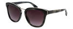 Lanvin Designer Sunglasses Navy Blue Marble/Smoke Rose Gradient SLN728-96NX-52mm