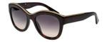 Lanvin Designer Sunglasses Havana Tortoise Gold / Grey Gradient SLN693-01AY-52mm