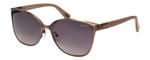 Lanvin Designer Sunglasses Copper Bronze/Tan Brown Grey Gradient SLN048-0SFR-57