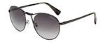 Lanvin Designer Sunglasses Gunmetal/Green Tortoise Grey Gradient SLN083-300Y-53