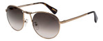 Lanvin Designer Sunglasses Gold Havana Tortoise / Grey Gradient SLN083-08FF-53mm