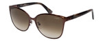Lanvin Sunglasses Bronze / White Marble Tortoise Brown Gradient SLN048-05A2-57mm