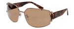Lanvin Designer Sunglasses Bronze/Marble Havana Tortoise Amber SLN020S-668X-63mm