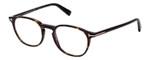 Tom Ford Designer Eyeglasses FT5583B-052 in Tortoise 50mm Bi-Focal