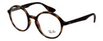 Ray Ban Prescription Eyeglasses RB7075-5365-49 mm Matte Dark Havana Tortoise Rx