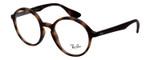 Ray Ban Rx Progressive Eyeglasses RB7075-5365-49 mm Matte Dark Havana Tortoise