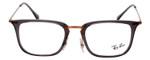 RayBan Rx Eyeglasses&Progressive Lens RB7141-5755-50 Smoke Crystal/Copper Bronze