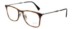 Ray Ban Designer Reading Glasses Glossy Havana Tortoise/Silver RB7086-2012-51 mm