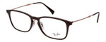 Ray Ban Designer Reading Glasses Glossy Brown/Shiny Copper Bronze RB8953-8028-56