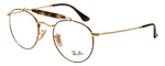 Ray Ban Designer Glasses Glossy Havana Tortoise/Shiny Gold RB3747V-2945-50 mm
