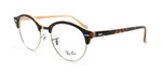 Ray Ban Prescription Eyeglasses RB4246V-5239-47 mm Dark Havana Tortoise/Beige Rx