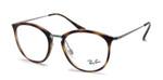 RayBan Rx Eyeglasses&Progressive Lens RB7140-2012-51 Dark Havana Tortoise/Silver