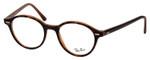 Ray Ban EyeGlasses Glossy Havana Tortoise/Caramel Amber Brown RB7118-5713-48 mm