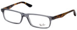 Ray Ban Designer Glasses Glossy Crystal Smoke/Havana Tortoise RB5277-5629-54 mm